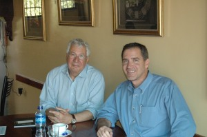 """With Jamil Hilal.  See my commentary on his book - """"What Now For Palestine"""""""