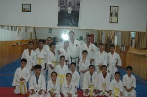 Karate class in Ramallah