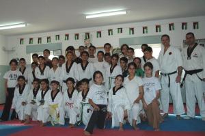 Karate class in Anata