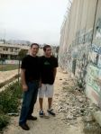 With Eitan at the Wall