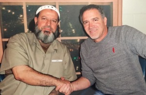 With Abdulrahman Odeh in Federal Prison, Beaumont, Texas